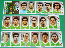 PANINI FOOTBALL GERMANY 2006 MEXIQUE MEXICO WM COMPLET FIFA WORLD CUP