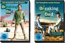 7 DVDs * BREAKING BAD - STAFFEL / SEASON  1 + 2 IM SET # NEU OVP