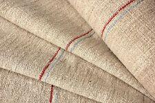 Grainsack fabric homespun Grain Sack material linen 12.5 Yds homespun X 21.5