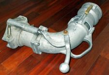 """Dixon 6200A Elbow Side Lever Tank Truck Fitting W/Coupler Inlet & 4"""" Adapter"""