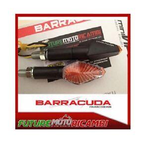 BARRACUDA Blinker Genehmigt Mini Viper Schwarz Lang Aprilia Tuono V4