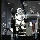 Christmas  Window Sticker Christmas Santa Claus Stickers Window Home  Decoration