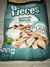 Snyder's of Hanover Pretzel Pieces Buttermilk Ranch 6-Pack 10 oz bag  Lot of 6