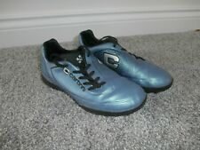Carbrini Boys Girls Astro Turf Boots 3G Football Trainers - Blue - UK 1 - VGC