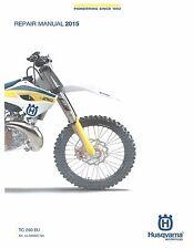 husqvarna txc250r txc310r i e full service repair manual 2013 2014