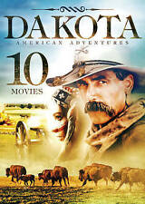 Dakota American Adventures 10 Movies NEW! 2 SEALED DVDs! Old West, Guns, Indians