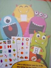 Teaching Tree Feed The Monster Alphabet Game Pre K Learning 4 pcs