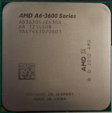 AMD A6-3620 AD3620OJZ43GX 2.2GHz FM1 4M Cach 4-Core HD 6530D APU 65W Processor