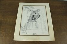 1972 Cecil Highley The Thinker Louisville, KY Numbered Signed Print 389/500