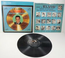 Vintage 1963 ELVIS PRESLEY GOLDEN RECORDS VOLUME 3 Vinyl LP 33rpm Album LSP-2765