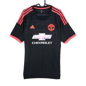 Manchester United FC Adidas 2015 - 2016 Football Jersey Shirt Size L