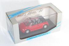 Minichamps 1/43 Volkswagen Concept Car Cabriolet 1994 'Red' paul's model art