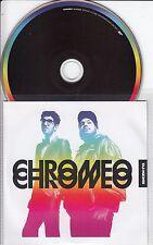 CHROMEO DJ-Kicks 2009 German 18-track promo mix CD Donna Allen Leo Sayer Kano