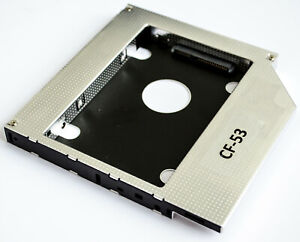 For Panasonic Toughbook CF-53 Hard drive Caddy HDD Tray for Optical DVD Slot