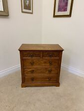 CHEST OF DRAWERS 5 DRAWERS CARVED WOOD STUNNING