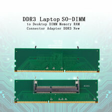 DDR3 Laptop SO-DIMM to Desktop DIMM Memory RAM Connector Adapter DDR3 FE