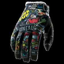 GUANTO MTB DOWNHILL DH ONEAL Jump Glove CRANK black/multi