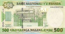 Rwanda 500 Francs 2004 Unc pn 30a