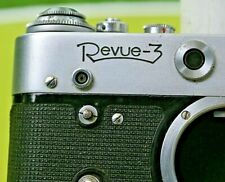 Rare FED 3L (REVUE 1ère version) objectif FED, N 61, f:2,8/52 mm+manuel emploi