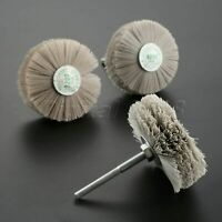 320# 400# 600# Grit Grinding Wheel Brush Polishing Wood Metal Stone Rotary Tool