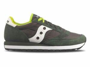 Scarpe da uomo Saucony Jazz Original s2044 275 verde sneakers sportiva passeggio