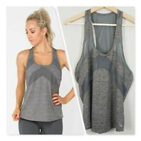 [ TONED By ASHY BINES ] Womens Mesh Panel Tank Top | Size S or AU 10 / US 6