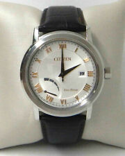 CITIZEN ECO-DRIVE BROWN LEATHER MEN'S WATCH  AW7020-00A $275.00