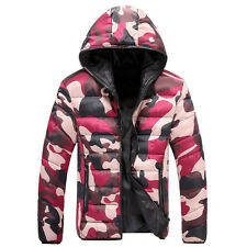 Mens Jacket Military Winter Long Coat Slim Fashion Casual Smart Warm Design