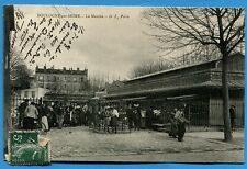 CPA: Boulogne sur Seine - Le Marché / 1908