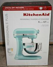 KitchenAid Professional 5 Plus 5 Quart Bowl-Lift Stand Mixer KP25M0XAQ Aqua Sky
