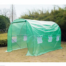 Outsunny 11.5x6.6x6.6ft Walk-in Tunnel Greenhouse Walk-in Tunnel Greenhouse
