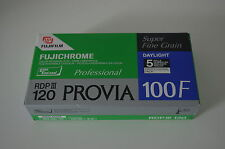 4 FUJI Fujichrome Provia 100F 120 er Rollfilm Farbumkehr Dia Filme abgelaufen