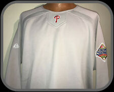PHILADELPHIA PHILLIES MAJESTIC THERMA BASE WARMUP PULLOVER SWEATSHIRT ADULT XL