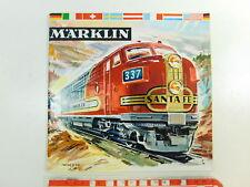 BQ209-0,5 # Märklin H0/00 Catalogo 1961/62 D Dm (senza Buono Acquisto), Molto