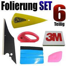 Folierung Rakel Set 6 Teilige Set für Optimale Scheiben Tönung - Vollfolierung