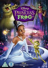 The Princess And The Frog (2010) John Musker BRAND NEW & SEALED UK REGION 2 DVD