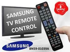 GENUINE SAMSUNG TV REMOTE CONTROL PART # BN59-01039A