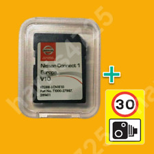 2020 V10 NISSAN CONNECT 1 SD CARD EUROPE MAPS KARTE LCN1 NAVI SPEED CAMERA