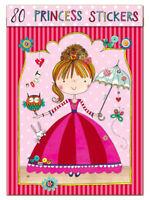 Childrens Stickers - PRINCESS By Rachel Ellen - Girls Party Present Crafts Gift