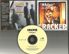 Camper Van Beethoven CRACKER Shine  4TRX w/ RARE EDITS PROMO DJ CD Single 2001