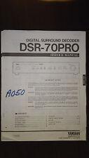 Yamaha dsr-70pro service manual Original Repair book stereo surround sound