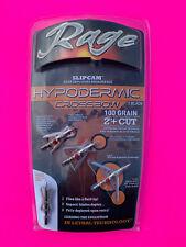 Rage Crossbow Hypodermic Broadheads 100 Grain 2