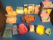 19 piece Fisher Price dollhouse furniture