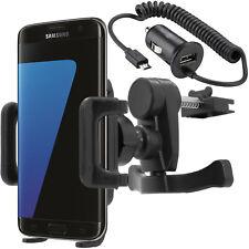 Auto KFZ Handy Halter für Lüftung Samsung Galaxy S7 Edge S6 S5 S4 S3 S2 A3 A5