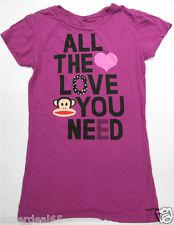 Paul Frank T Shirt Fuschia 100% Cotton All The Love You Need  Paul Frank