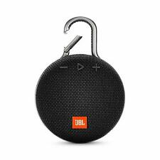 JBL Clip 3 Portable Bluetooth Speaker - Midnight Black