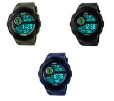 Reloj de Pulsera alarma Temporizador Digital LED SKMEI Casual Resistente Al Agua Deportes Cuarzo
