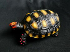 1:1 Life Size Red Footed Tortoise Turtle Replica Model Figurine Figure 11.5cm