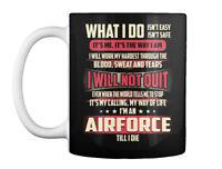 Airforce What I Do Gift Coffee Mug