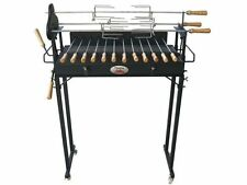 Flaming Coals Original Cyprus Spit Roaster Rotisserie Charcoal BBQ Grill
